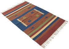 Galleria farah1970 - 200x140 CM Autentic Khilim Jahnu Tapis Kelem Indians mad