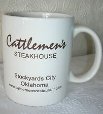 Cattlemen's Steakhouse Mug Cup Stockyards City, Oklahoma
