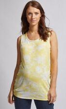 Dorothy Perkins - Maternity Yellow Tie Dye Print Vest Top - Size 10 - BNWT