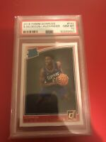 2018 Panini Donruss #162 Shai Gilgeous-Alexander Rated Rookie Card RC PSA 10