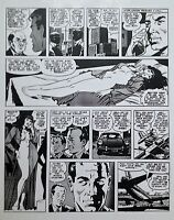 WALLY WOOD  CANNON  #4 PAGE 22  CLASSIC 1970s STRIP  ART TRANSPARENCY     VF