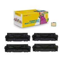 Compatible 055 BK CMY With Chip Toner Cartridge for Canon image CLASS LBP664Cdw