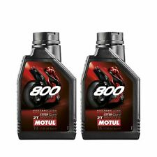 Motul 800 2T Factory Line Road Racing 2 Stroke Motorcycle Engine Oil - 2 Litre