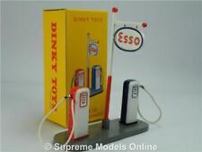 Dinky Toys ESSO Petrol PUMPS 1 43 Scale 49d Atlas Gas & Sign Display Garage K8