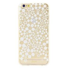 Sonix Inlay Rose Case Hard Shell Iphone 6 6S 4.7 Hello Daisy Clear White Flowers