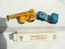 Vintage Matchbox Taylor Crane Jumbo Majorette Container  Bernard
