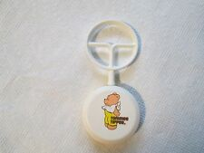Vintage Plastic Tommee Tippee Baby Rattle Teddy Bear Toy>RARE+GORGEOUS
