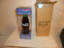 #18 BOBBY LABONTE INTERSTATE COCA COLA BEAR 2001 BOTTLE W/ CAR ACTION 1/64 NEW