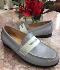 New Cole Haan Reflective Monroe Gray Loafer Shoes Size 8 MSRP $198
