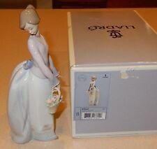 LLADRO Figurine BASKET OF LOVE #07622 In Original Box AS IS READ