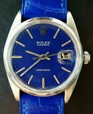 Rolex ♛ Oyster-Date 35 mm Bluedream 6694 Vintage Elegant Luxury Men's Watch 1964