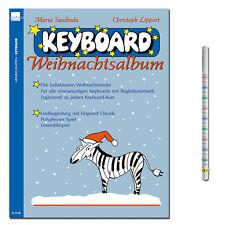 Keyboard Weihnachtsalbum - mit praktischem Bleistift - N2540 - 9990051252286
