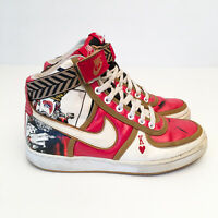 Nike Vandal High Mens Size US 6 'King of Hearts' 316215-611 RARE Red White
