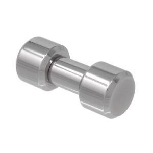 12mm gauge, 316L Stainless Steel Liberty Bell, Internally threaded Barbell