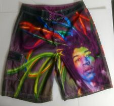 Jimmy Hendrix Size 32 Multicolor Boardshorts by Dragonfly