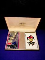 """Congress Playing Cards """"A Reminder Ship Via Pacific Forwarding"""" Vintage Deck Set"""