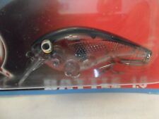 """Bay Rat Lures Battle Rattln Crank Bait Clear Shad  2 1/2"""" New In Package B10"""
