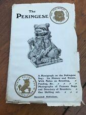 the pekingese .a monograph on the pekingese dog by miss l.c.smythe 1909