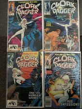 Cloak and Dagger Full Run #1-4, Marvel Comics