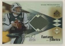 2004 Upper Deck Reflections Fantasy Fabrics Rainbow /15 Chad Pennington #CH