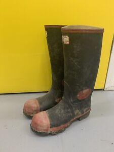 Argyll Super Safety Wellies Wellington Boots 8 UK