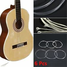 6 x 1m 3ft Nylon Strings Silver-Plated Replacement For Acoustic Classical Guitar