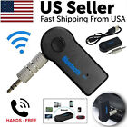 Wireless Bluetooth 3.5mm AUX Audio Stereo Music Home Car Receiver Adapter New <br/> ✔20,000+ SOLD!! ✔ SAME DAY SHIPPING! ✔ BESTQUALITY! ✔