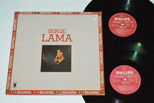 SERGE LAMA Vedettes 1+1 2-LP Philips Canada 1974 6683-005 Best of VG/VG/VG+