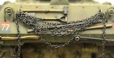DioDump DD137 Metal chain - fine miniature brass chain for model making diorama