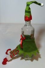 Girl Elf Wine Bottle Apron Wine Champagne Soap Syrup Fits Most Small Bottles