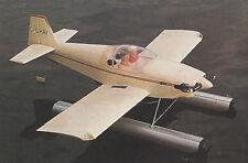 1/5 Scale Vans RV-6F Floatplane/Seaplane Plans, Templates and Instructions 60ws