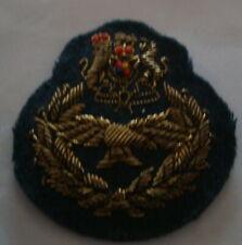 Original BRITISH RAF -  'MASTER AIRCREW' MESS DRESS INSIGNIA PATCH