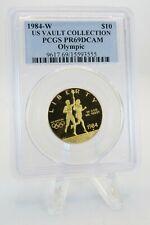 1984-W PCGS PR69DCAM Olympic Gold Commemorative Proof $10