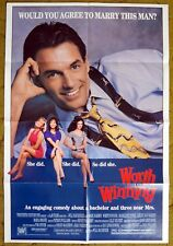 "Mark Harmon and the challenge of Marriage in ""WORTH WINNING""  - Movie poster"