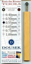 Rosie the Riveter - 0.55mm Single Row - Rivet Making Tool 1:72 1:48 1:32 #S0.55