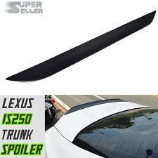 14-17 Unpaint Fit LEXUS IS250 IS300h Sedan Rear Trunk Lip Spoiler PUF