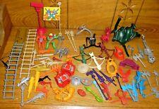 Assorted Lot Of Vintage MOTU He-Man Accessories