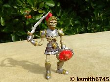 ELC SKELETON WARRIOR plastic toy Castle Tower Dungeon Doom monster soldier 💥