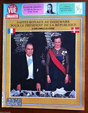Point de Vue 7/05/1982; Lady Sarah fille de Margaret/ Les Mitterand au Danemark