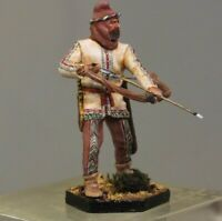 Painted Tin Toy Soldier Persian archer 54mm 1/32