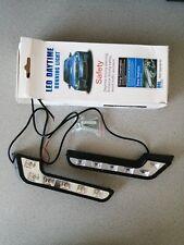 2x Auto Universal 6 LED Tagfahrlicht L-FORM Tagfahrleuchten DRL Scheinwerfer
