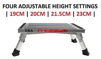Adjustable Height Portable Folding Step Caravan Camping Rv Accessories Ladder