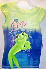 ♥LOVELY♥ TEE-SHIRT PRINCESSE TIANA ET LA GRENOUILLE 7-8 ans DISNEY