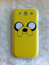ADVENTURE TIME JAKE THE DOG Printed Samsung Galaxy S3 i9300 Case White Edges