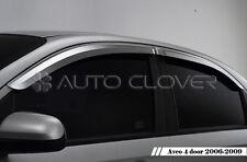 Chrome Window Visors Vent 4p For 06 07 08 09 Chevy Aveo 4d