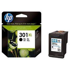 Original 301 XL HP Black Inkjet Cartridge Genuine 301XL (CH563EE) 480 PAGES !!!