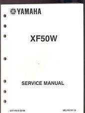 2006 YAMAHA XF50W SCOOTER  MOTORCYCLE SERVICE MANUAL / LIT-11616-20-58