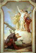 Giovanni Battista Tiepolo Palazzo Patriarcale The Three Angels Appearing To Abra