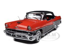 1956 MERCURY MONTCLAIR SOFT TOP RED/BLACK 1/18 MODEL BY SUNSTAR 5135