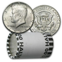 90% Silver Kennedy Half Dollar 20-Coin Roll Avg Circ (P & D) - SKU #5298